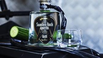 Sweden Rock Spirits gin är smaksatt med gurka från Norje.