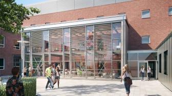 Byggstart för omfattande modernisering av M-huset i Lund
