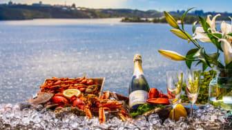 Mat från havet smakar bäst vid havet! Välkommen på en saltstänkt skaldjurs- och champagneweekend.