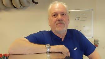 Björn Carlsson, teknisk chef och grundare av QTF Sweden AB