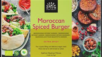 Urtekram Moroccan Spiced Burger