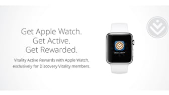 Vitality members can now earn an Apple Watch by being more active
