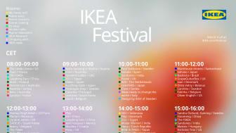 IKEA lancerer ny verdensomspændende festival