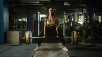 Gymgrossisten hyllar de som vill nå resultat med sin träning i stark, nordisk kampanj.