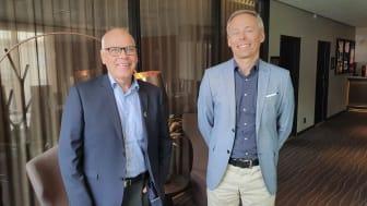 Lars-Olov Söderström (tv) och Mikael Backgård.