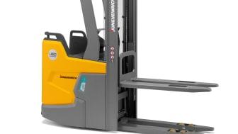 Hel truckserie staplare med integrerat litiumjonbatteri