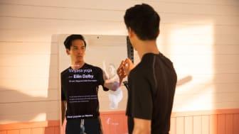 Nu kan du förhandsbeställa träningsskärmen Rflex från Mentra by SATS