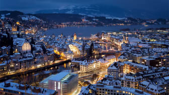 Luzern Winterpanorama