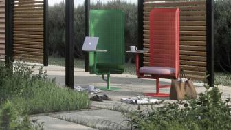 Work Lounge, design Superlab och Charlotte Petersson Troije