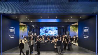 GROHEs showroom på ISH 2019 i Frankfurt.