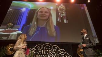 Vinnare i kategorin Årets Förnyare: Malin Mendel