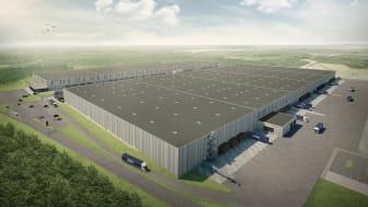 DSV udvider lokationen på Hedelandsvej med 95.000 m2 lager- og logistikfaciliteter