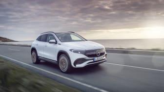 Elektrisk atlet i kompakt format: Mercedes-Benz viser EQA