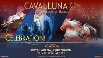 Det imponerende hesteshow CAVALLUNA - CELEBRATION kommer til København!