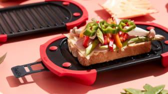Fixa varma mackor snabbt och enkelt med grill för mikron!