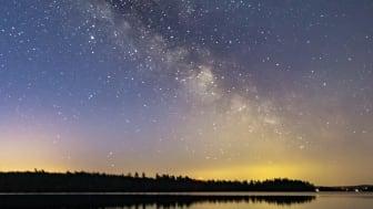 Natt över Breanäs.