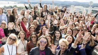JUBLER: Sopra Steria er allerede kåret til Norges beste arbeidsplass - og nå kan selskapet også motta Oda-Prisen Organisasjon.