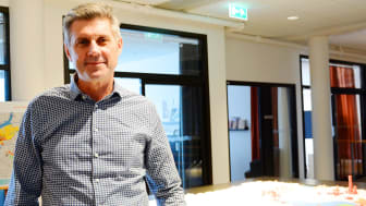 Gustaf von Seth är på plats som Fastighetsutvecklingschef på Älvstranden Utveckling, Göteborg.