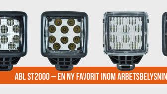 En ny favorit inom arbetsbelysning – ABL ST2000