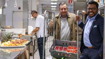 David Viklund, Clarion Sign Hotel och Kenneth Hellberg, Grönsakshallen Sorunda