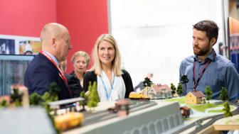 Elmia och Jönköping blir värd för Nordens viktigaste mötesplats för framtidens hållbara transporter och infrastruktur 8 – 10 oktober 2019.