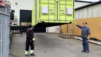 Den första anläggningen från Vilokan ADF Solutions levererade till Cleveland Hopkins International Airport