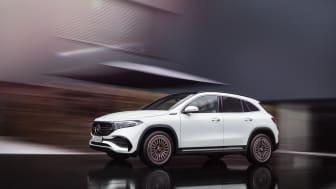 Nya eldrivna Mercedes-Benz EQA visad