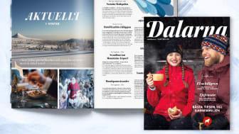 Nytt magasin om vinterupplevelser i Dalarna.