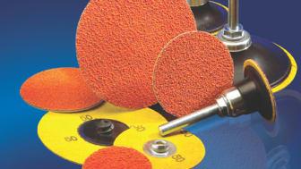 Effektivare slipning av värmekänsliga material med nya kvickrondeller