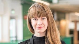 """Emma Pihl Skoog har skrivit avhandlingen """"Kraftkarlar och knockouts: Kraftsporter, kropp och klass i Sverige 1920–1960"""". Foto: Stockholms universitet"""
