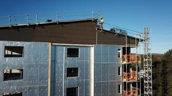 WeatherProtect erbjuder isolering, väderskydd och vindskydd i ett