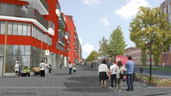 Entreprenörer: Inbjudan till dialogmöte inför nybyggnation av hyres- och bostadsrätter i kvarteret Makrillen, Gamlestaden