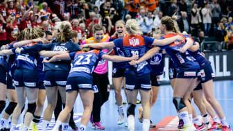 Nå kan håndballinteresserte nordmenn følge Stine Bredal Oftedal og resten av landslagets kamp for EM-gullet direkte hos ComeOn! FOTO: ComeOn!/Shutterstock