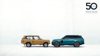 Range Rover firar 50 år av innovativa och lyxiga terrängbilar