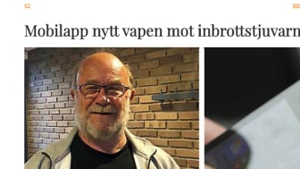 Appen CoYards blir nya vapnet mot inbrottstjuvar i Rydebäck