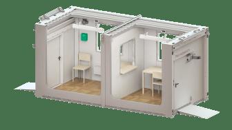 Mobilt testcenter för Coronavirus