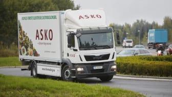 ASKOs helelektriske lastebil (Foto: Erik Norrud)