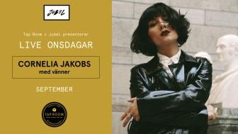 Cornelia Jakobs live på Tap Room Kungsholmen varje onsdag hela september!