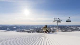 På langfredag var det rekord i antall gjester i Norges største skianlegget , Trysil.