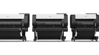 Skrivare för snabb, förstklassig CAD- och affischproduktion – nya Canon imagePROGRAF TX-serien