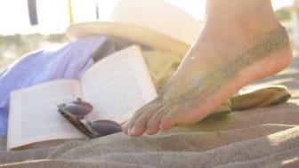 Strand-Einmaleins für die Füße