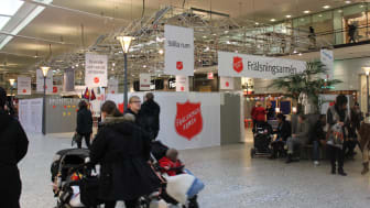 Frälsningsarmén intar Nordstan i Göteborg