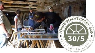 Fönsterrenoveringens dag: en dag för hela Sverige den 30 maj