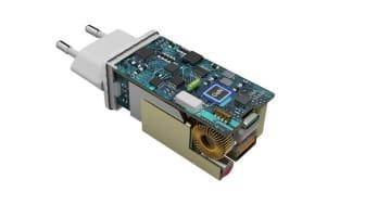 65 W USB-laddare med GaN-teknik från hama möjliggör en snabb men batterisparande uppladdning genom Power Delivery eller Qualcomm® Quick Charge™-teknik 2.0/3.0. Foto: hama