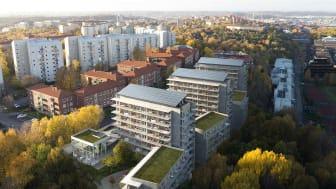 Brf Viva -  Årets Miljöbyggnad