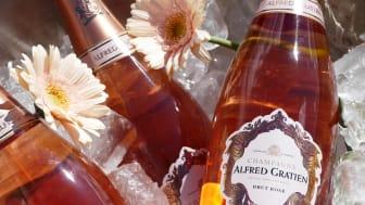 Alfred Gratiens roséchampagne vinner pris för andra året i rad