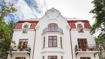 Fasadbild på Villa Ateno