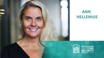 Ann Hellenius - keynote på konferensen ICSS 2019 16-18 september