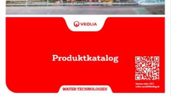So sieht er aus: Der letzte gedruckte Produktkatalog von Veolia Water Technologies