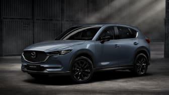 CX-5 Ignite Edition i den för CX-5 nya färgen Polymetal Grey metallic